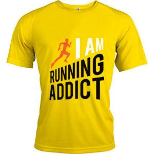 t-shirts-running-addict-jaune-homme
